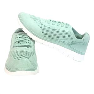 Vionic Fresh Joey 6 Lace Up Casual Sneakers Mint